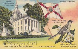 Florida Tallahassee Florida State Capitol In Tallahassee