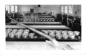 RPPC Tillamook, Oregon Cheese Factory Occupational c1940s Vintage Postcard