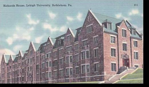 Pennsylvania Bethlehem Richards House Lehigh University