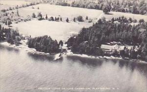 New York Plattsburg Valcour Lodge On Lake Champlain Albertype