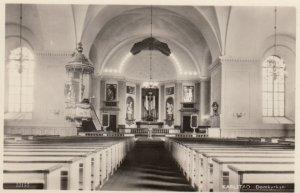 RP: KARLSTAD , Sweden , 30-40s ; Domkyrkan (Interior)