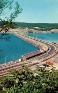 Canada - Nova Scotia, Canso Causeway.