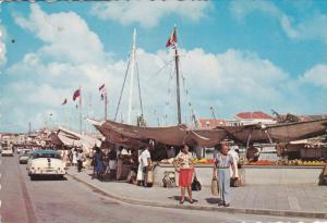 Floating Fruit Market , CURACAO , N.A. , 50-70s