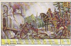 Liebig S1630 History Of Germany No 1 Kaiser Barbarossa