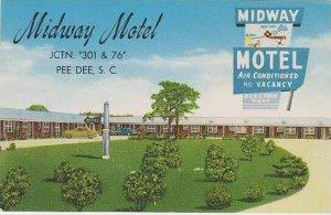 South Carolina Pee Dee Midway Motel