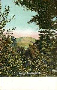 Bluehill, Maine, ME, Greetings from Bluehill, Unused Vintage Postcard PC b645