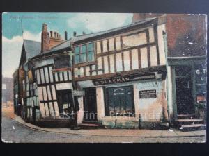 Manchester: Poets Corner c1907 showing R.DEARMAN ANTIQUE DEALER