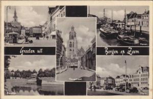 5- Views, Groeten Uit Bergen Op Zoom (North Brabant), Netherlands, 1910-1920s