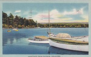 Oklahoma Greetings From Guymon 1948