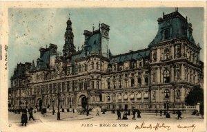 CPA PARIS 4e Hotel de Ville (445596)