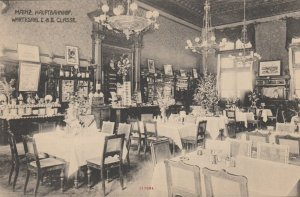 MAINZ , Germany, 1900-10s ; Railroad Station Restaurant & Waiting Room