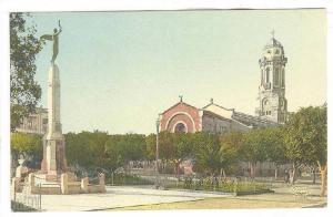 Relizane , Algeria , 00-10s ; Monument aux Morts et Eglise