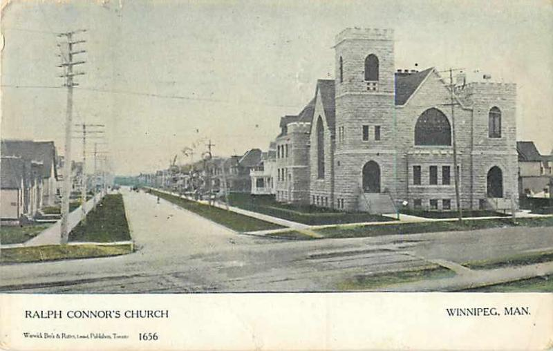 Ralph Connor's Church, Winnipeg, MB, Canada