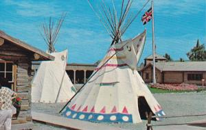 Indian Teepees , FORT MACLEOD , Alberta , Canada , 50-60s