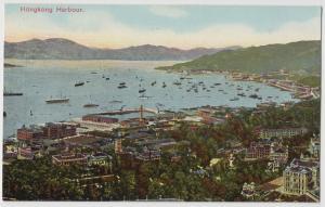 Hong Kong (China) Hong Kong Harbour ca. 1910