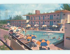 1950's HOLIDAY BEACH MOTEL Hollywood Florida FL s8278