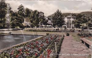 RP, Bad Münster am Stein-Ebernburg, Germany, 1920-1940s : Kurpark mit Kurhaus