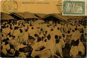 CPA Marche en Imerina MADAGASCAR (709678)