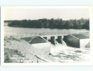 Pre-1950 rppc NICE VIEW Willow River - Near Moose Lake & Hinckley MN W0048