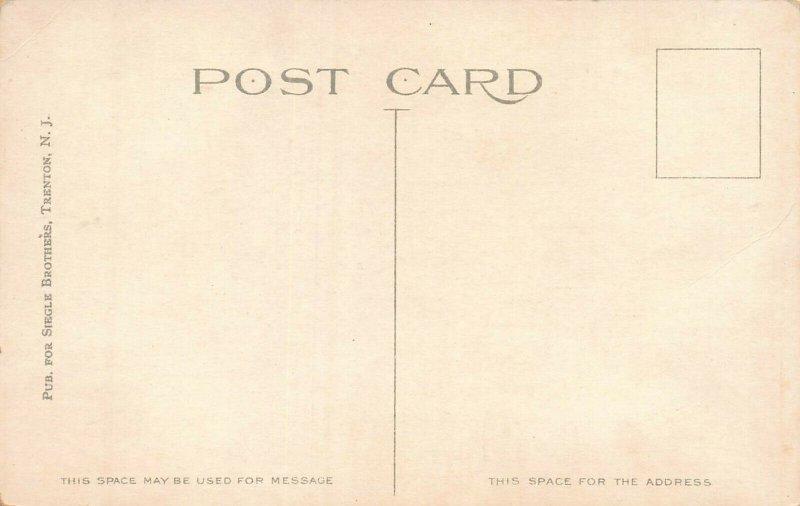 McKinley Hospital, Trenton, New Jersey, Early Postcard, Unused