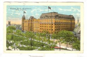 Hotel Windsor, Montreal, Canada, PU-00-10s