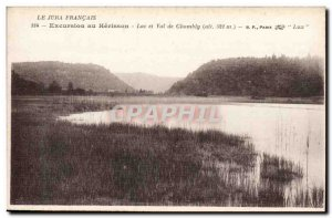 Excursion Hedgehog - Lake and Val de Chambly Old Postcard