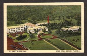 FL Aerial St Mary's Hospital WEST PALM BEACH FLORIDA