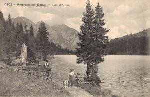 Switzerland Arnensee bei Gstaad Lac des Arnon 02.99