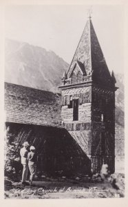 RP: BENNETT , Y.T. , Canada , 1920s-40s ; Old Log Church