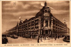 CPA PARIS (9e) - Grands Magasins du PRINTEMPS (218397)