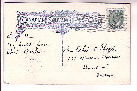 Kings Square, St John, New Brunswick Tourist Association, Warwick Used 1908