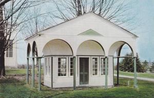 Exterior,  David Willson's Study, Temple of Peace, Sharon, Ontario,  Canada, ...