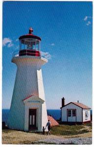 Lighthouse, Shipshead Gaspe Peninsula