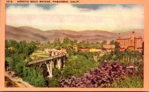 California Pasadena Arroyo Seco Bridge
