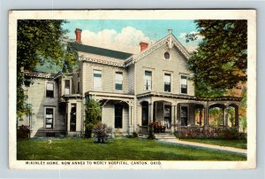 Canton OH, President McKinley's Home And Famous Porch, Vintage Ohio Postcard