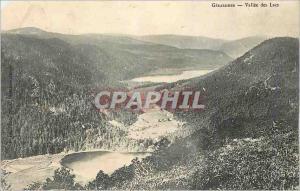 Postcard Old Valley Lakes Gerardmer