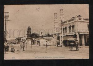 055961 SINGAPORE Hindoo & Mohamedan Temple Vintage PC