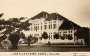 CPA Neutrale Lagere School MALANG. INDONESIA (169567)