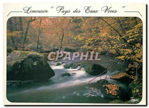 Postcard Modern Image of France Limousin Chateau d'Eau in France