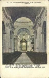 Montreal Canada, du Canada Interior, St James Cathedral  Interior, St James C...