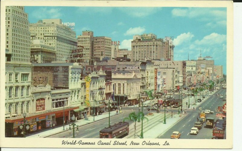 New Orleans,LA., World Famous Canal Street