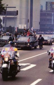 Motorcade for President Jimmy Carter and South Korean President Park