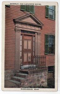 Marblehead, Mass, Doorway, Old Lafayette House