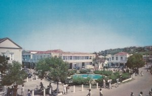 MONTEGO BAY, Jamaica, British West Indies, 1940-60s; The Square