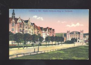COBLENZ A. RH. GERMANY KAIFER WILHELM RING FELTHAFFE ANTIQUE VINTAGE POSTCARD