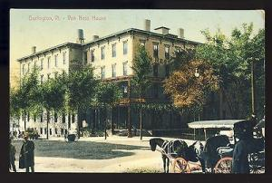 Early Burlington, Vermont/VT Postcard, Van Ness House