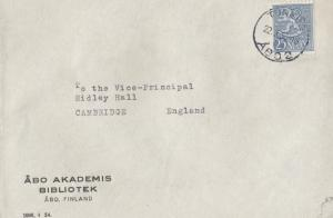 Rijskmuseum GM KAM Dutch Art Museum 1956 Envelope Stamp Cover