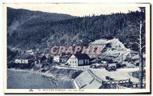 Old Postcard Vosges Black Lake