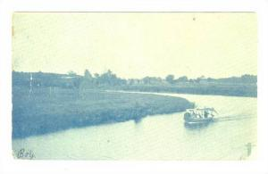 Boat on water in South Haven Michigan, PU-1904