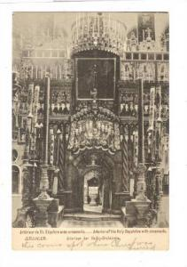 Jerusalem, Israel , 00-10s , Interior of the Holy Sepulchre with ornaments